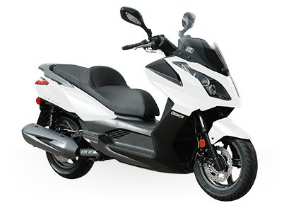 2017 Kymco Downtown 300i in Enfield, Connecticut