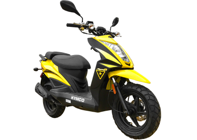 2017 Kymco Super 8 50X in Marietta, Ohio