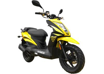 2017 Kymco Super 8 50X in Burleson, Texas