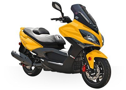 2017 Kymco Xciting 500 Ri ABS in Le Roy, New York
