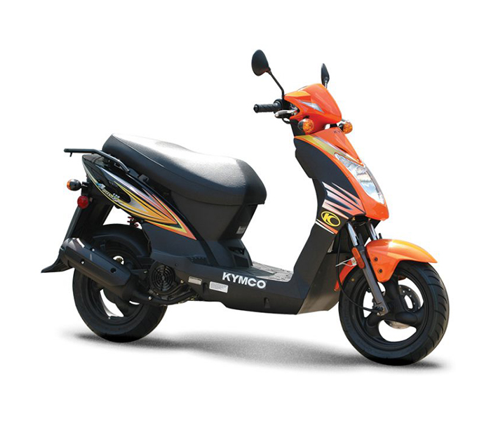 2018 kymco agility 125 orange scooters indianapolis. Black Bedroom Furniture Sets. Home Design Ideas
