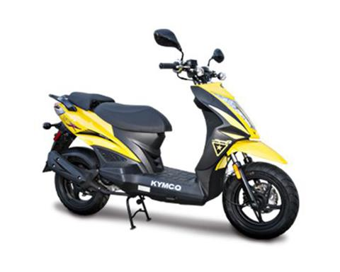 2018 Kymco Super 8 50X in Adams, Massachusetts