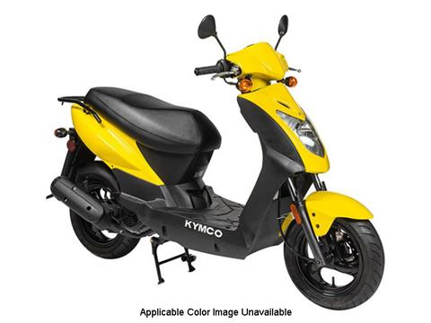 2019 Kymco Agility 125 in Sterling, Illinois
