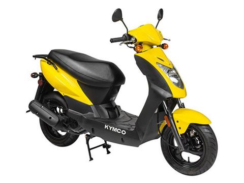 2019 Kymco Agility 125 in Adams, Massachusetts