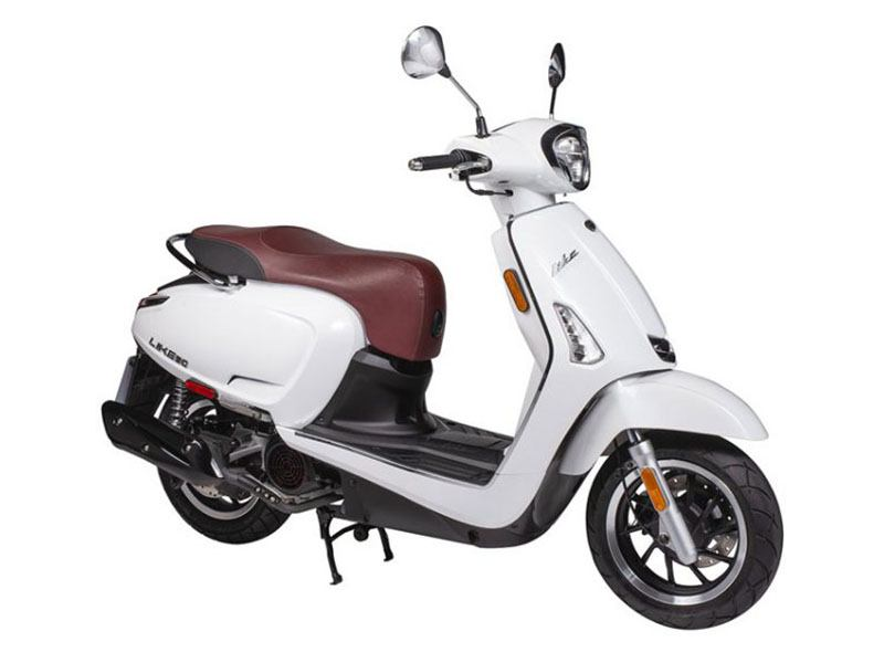 2019 Kymco Like 150i with Noodoe & ABS in Clearwater, Florida
