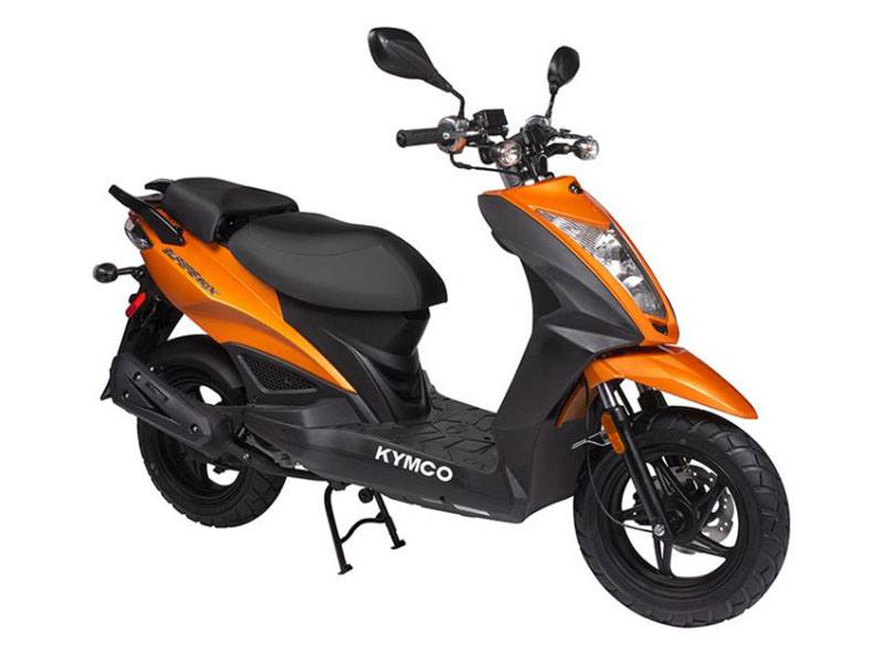 2019 Kymco Super 8 150X in Sanford, North Carolina