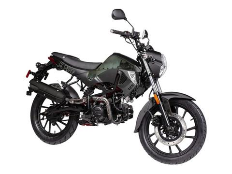 2020 Kymco K-Pipe 125 Limited Edition in Burleson, Texas