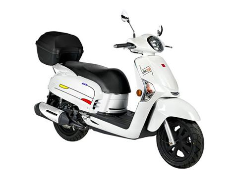 2020 Kymco Like 200i Limited Edition in Adams, Massachusetts