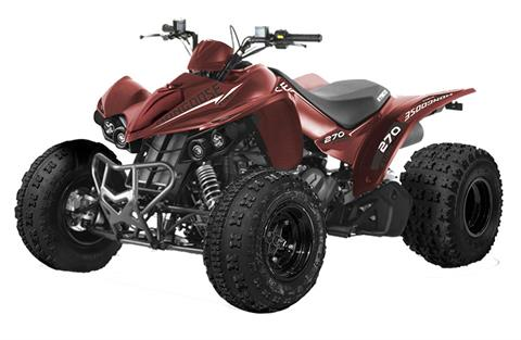 2021 Kymco Mongoose 270 Euro in Jasper, Indiana