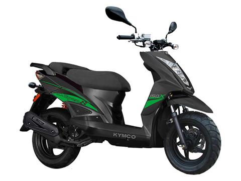 2021 Kymco Super 8 150X in Sumter, South Carolina