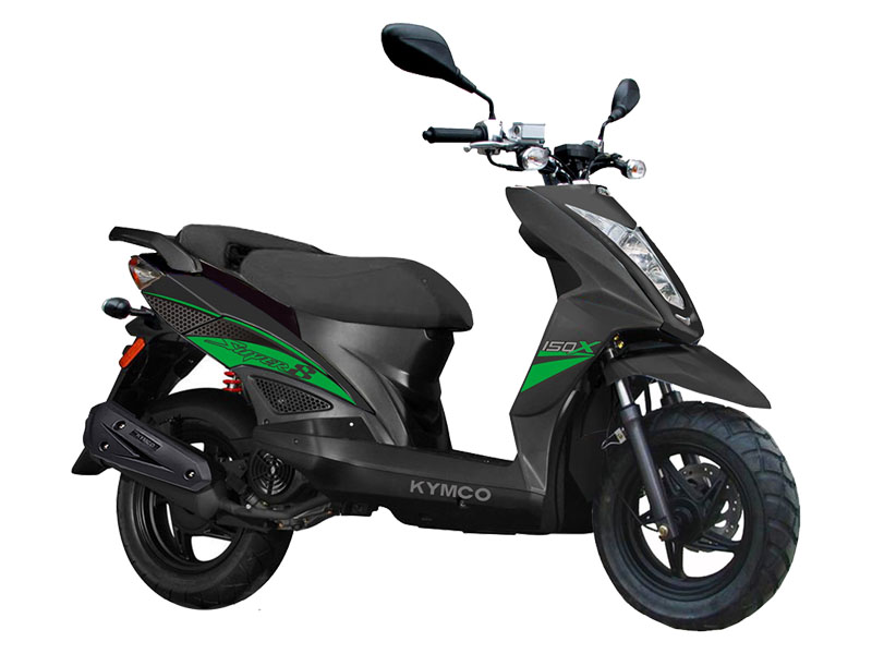 2021 Kymco Super 8 150X in Sanford, North Carolina