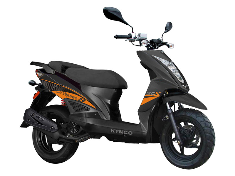 2021 Kymco Super 8 50X in Aulander, North Carolina