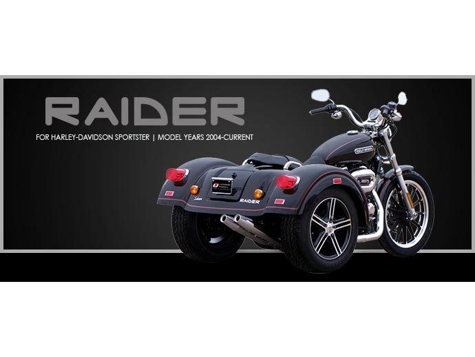 2017 Lehman Trikes/Harley-Davidson Raider for Sportster in Adams, Massachusetts