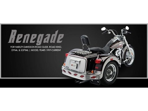 2017 Lehman Trikes/Harley-Davidson Renegade for Dyna Softail in Marengo, Illinois