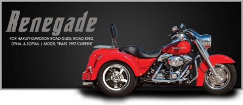 2018 Lehman Trikes/Harley-Davidson Renegade for Road Glide in Adams, Massachusetts