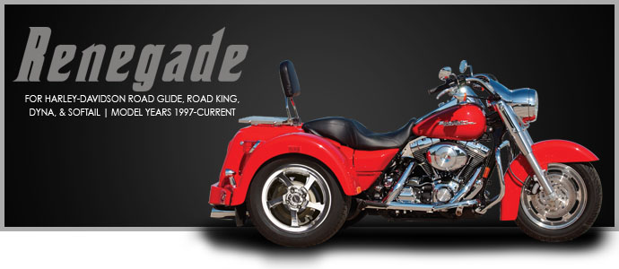 2019 Lehman Trikes/Harley-Davidson Renegade for Road Glide in Adams, Massachusetts - Photo 1