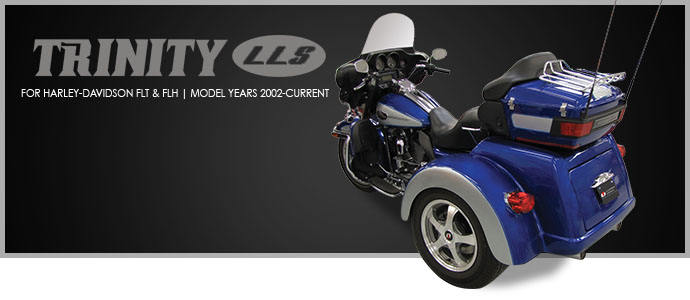 2020 Lehman Trikes Trinity LLS for FLH & FLT Models in Adams, Massachusetts - Photo 4