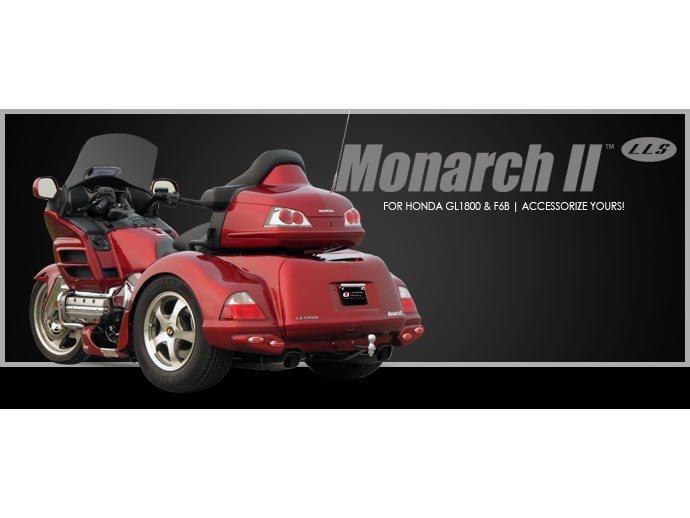 2018 Lehman Trikes/Honda Monarch II LLS GL1800 Gold Wing in Adams, Massachusetts