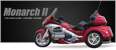 2019 Lehman Trikes/Honda Monarch II GL1800 Gold Wing in Adams, Massachusetts