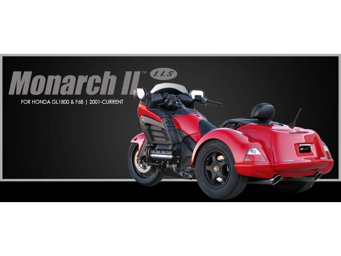 2019 Lehman Trikes/Honda Monarch II LLS GL1800 Gold Wing in Adams, Massachusetts - Photo 2