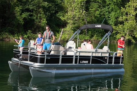 2016 Lowe SF214 Sport Fish in Amory, Mississippi