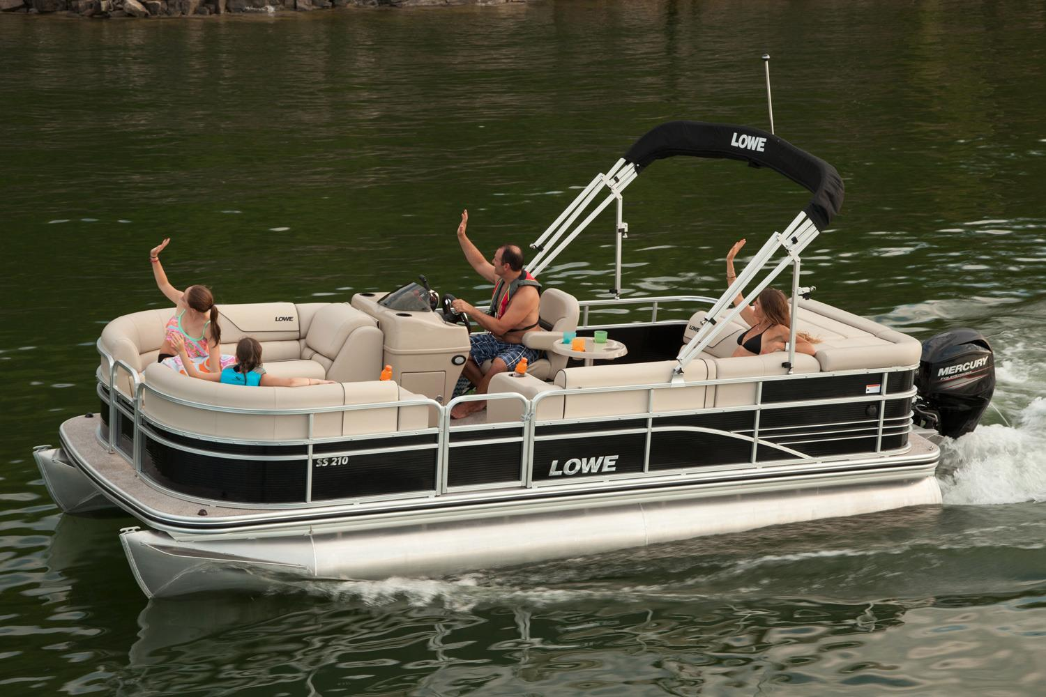 New 2016 Lowe SS210 Power Boats Outboard in Mount Pleasant, TX