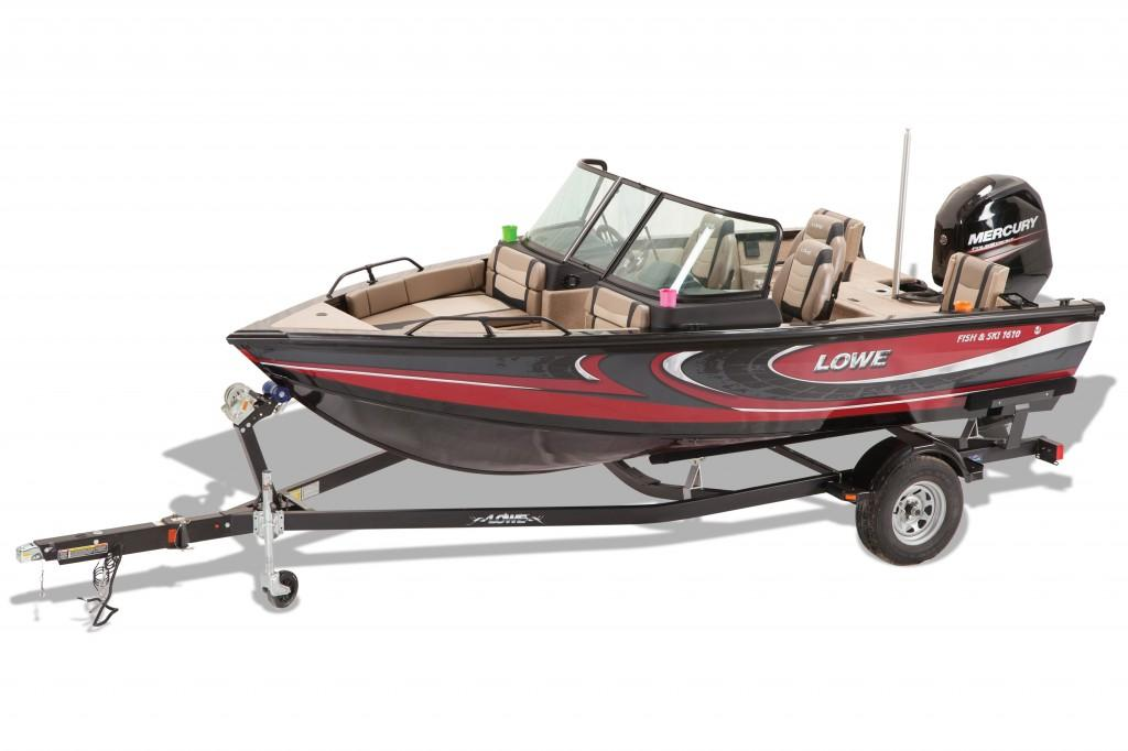 2016 Lowe Fish & Ski FS1610 in Amory, Mississippi