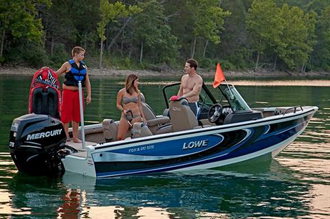 2016 Lowe Fish & Ski FS1810 in Fort Smith, Arkansas