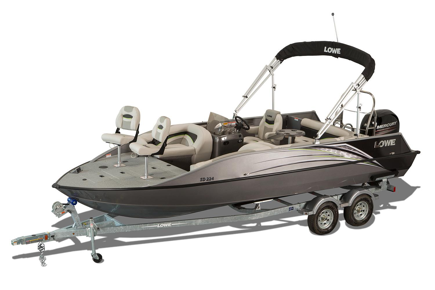 2017 Lowe SD224 Sport Deck in Holiday, Florida