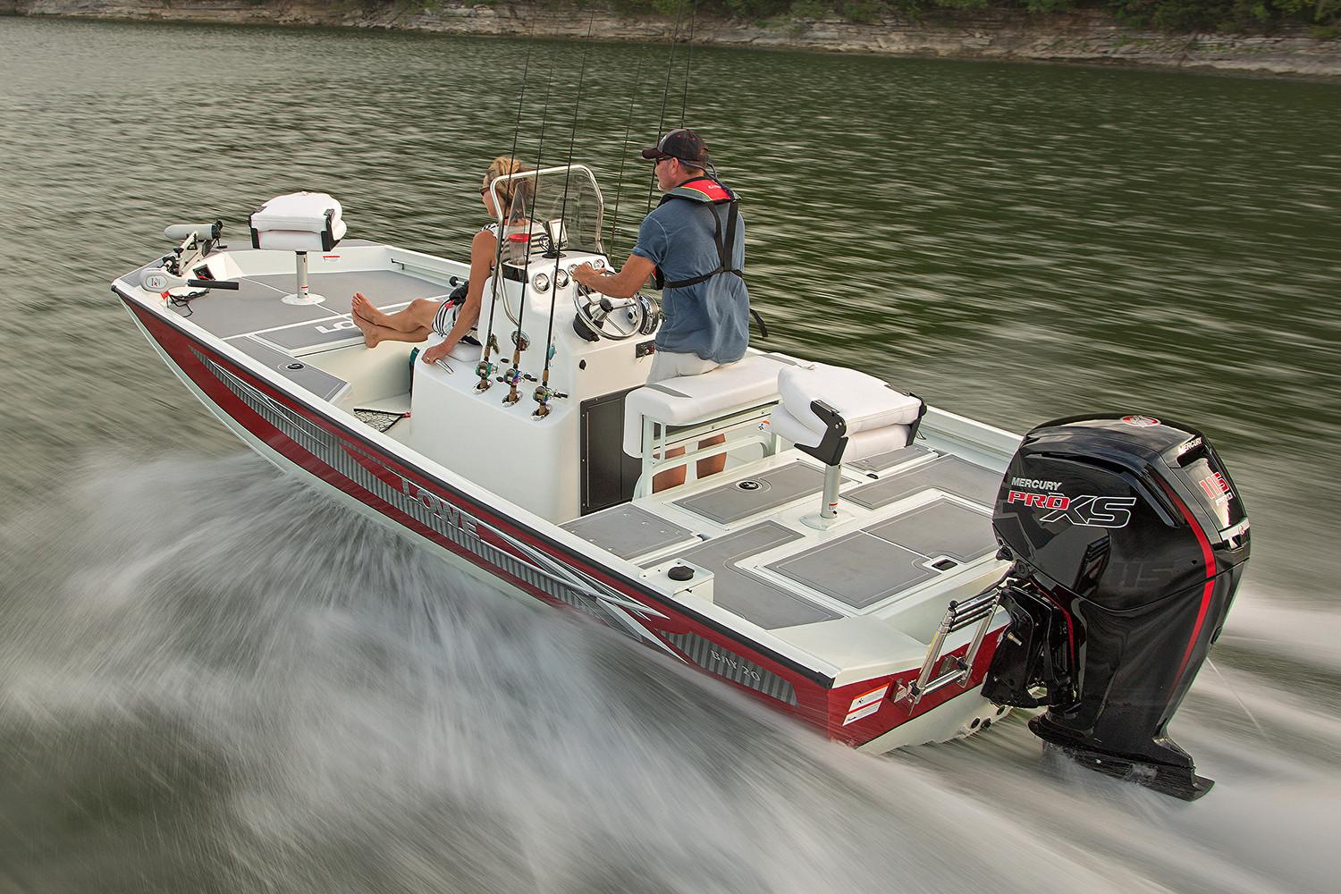 New 2018 Lowe 20 Bay Power Boats Outboard In Mount Pleasant Tx