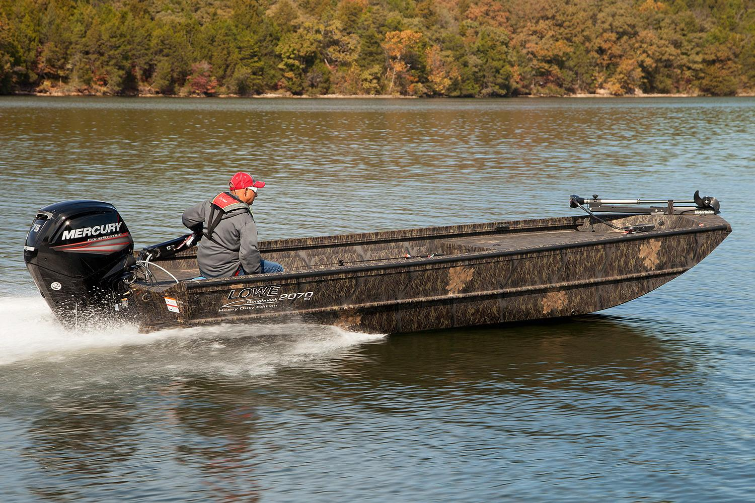 New 2018 Lowe Roughneck 2070 Dlx Power Boats Outboard In Mineral Va