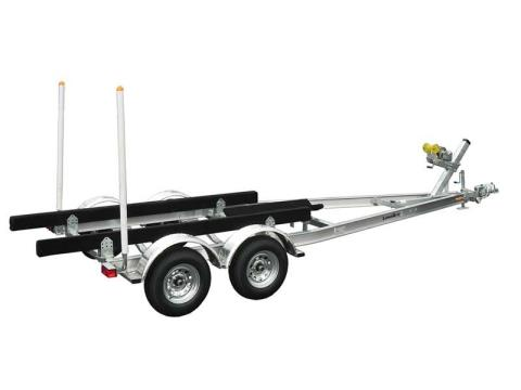 2017 Load Rite Load Rite Aluminum Tandem Axle Skiff (LR-AS24T3700102TSSB1) in Newberry, South Carolina
