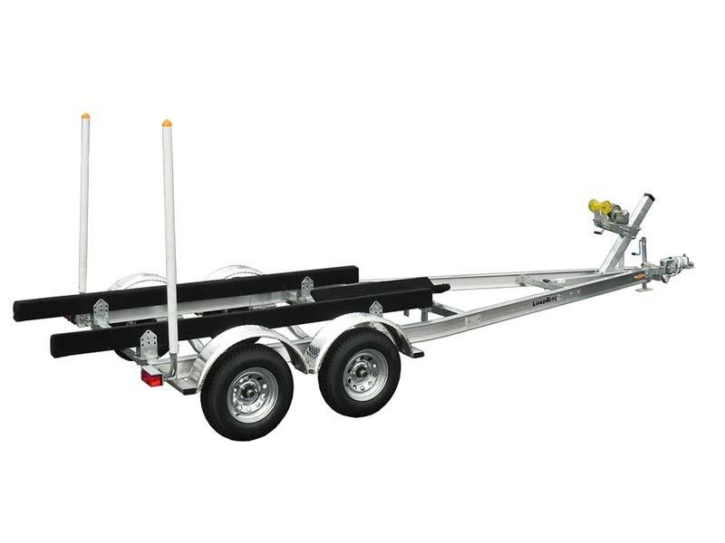 2017 Load Rite Load Rite Aluminum Tandem Axle Skiff (LR-AS24T6000102TSSB1) in Newberry, South Carolina