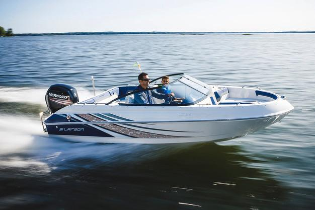 2018 Larson LX 160 OB in Holiday, Florida