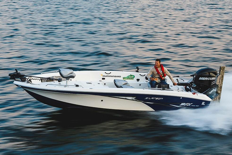 New 2018 Larson FX 2020 Tiller Power Boats Outboard in Lakeport, CA