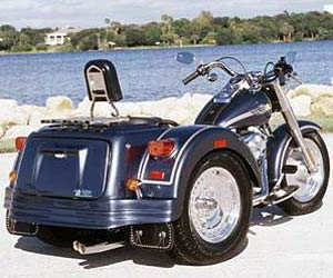 2004 Lehman Trikes Softail Renegade in Adams, Massachusetts