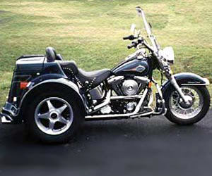 2004 Lehman Trikes Softail Rogue in Adams, Massachusetts