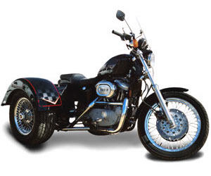 2004 Lehman Trikes Sportster Bandit in Adams, Massachusetts