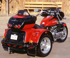 2004 Lehman Trikes Valkyrie Interstate Predator in Adams, Massachusetts