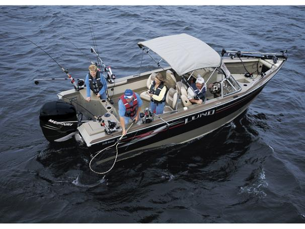 Similar boat shown: Lund 2150 Baron Magnum. - Photo 1