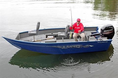 2017 Lund 1650 Rebel XS Tiller in Albert Lea, Minnesota