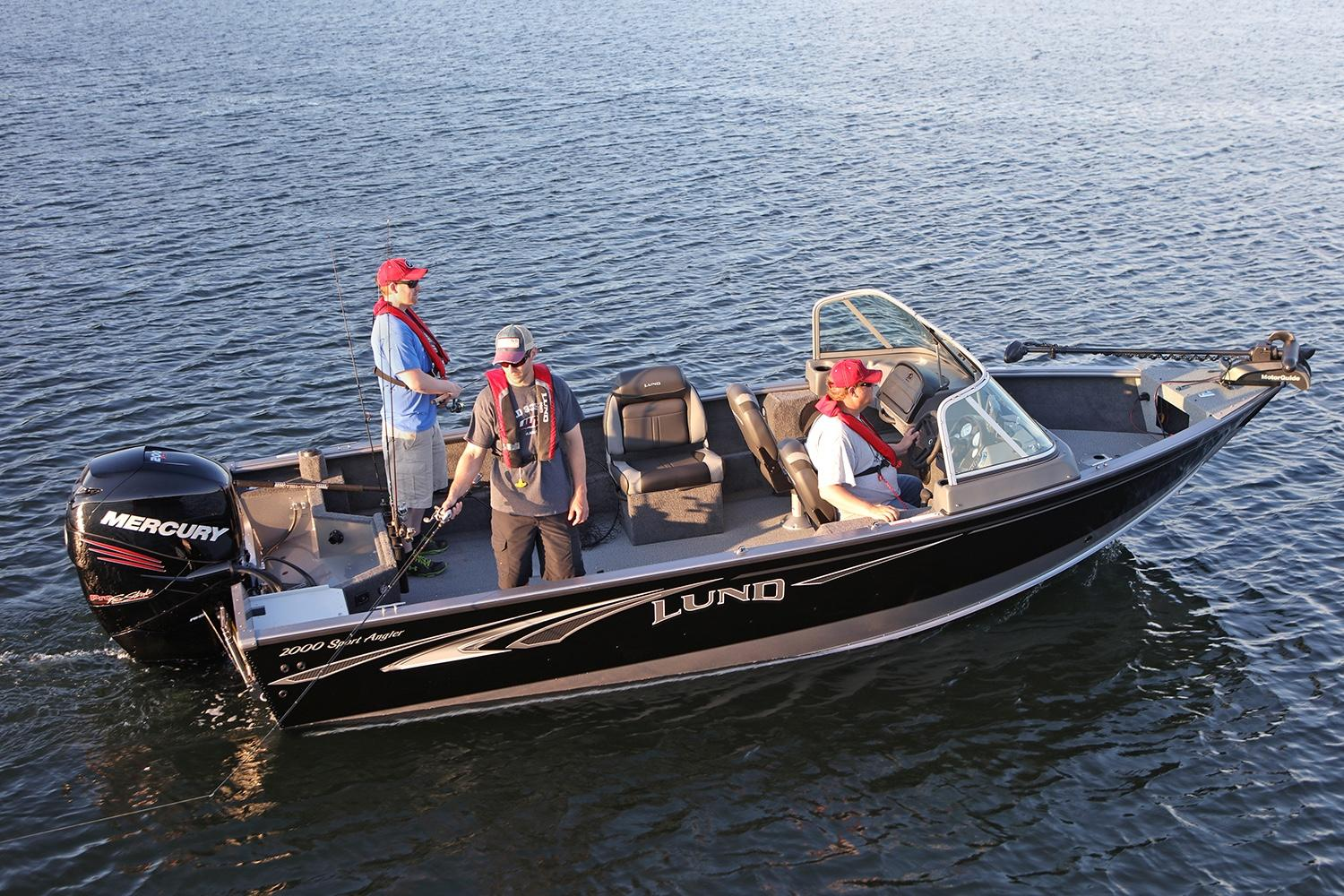 2019 Lund 2000 Sport Angler in Albert Lea, Minnesota - Photo 1