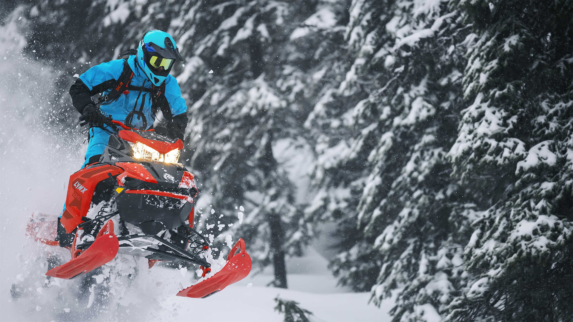 "2022 LYNX BoonDocker DS 4100 850 E-TEC PowderMax Light FlexEdge 3.0"" SHOT - EARLY INTRO in Woodinville, Washington - Photo 18"