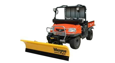 2017 Meyer Drive Pro 7 Ft. 6 In. Power Angling Plow Package Euro 28060 in Eagle Bend, Minnesota