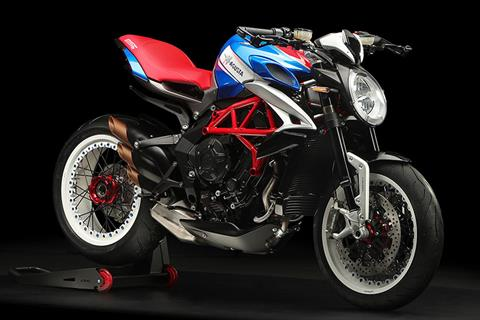 2019 MV Agusta Dragster RR America in Fort Montgomery, New York