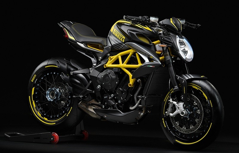 2019 MV Agusta Dragster 800 RR Pirelli in Shelby Township, Michigan - Photo 9