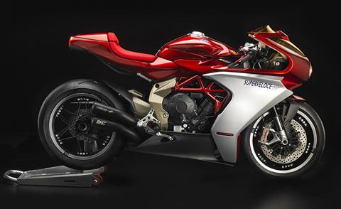 2019 MV Agusta Superveloce 800 Serie Oro in Fort Montgomery, New York