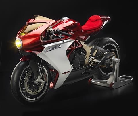 2019 MV Agusta Superveloce 800 Serie Oro in Marietta, Georgia - Photo 3