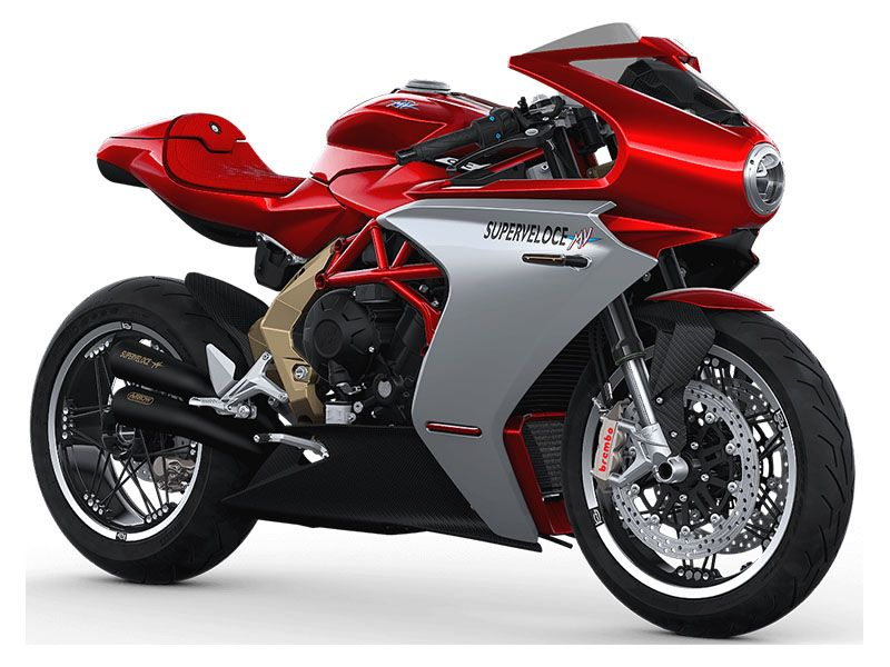 2020 MV Agusta Superveloce 800 Serie Oro in Shelby Township, Michigan - Photo 3