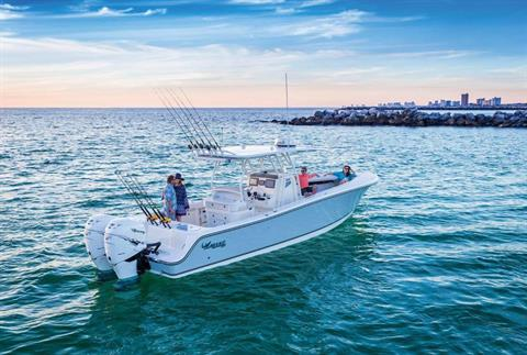2017 Mako 334 CC Bluewater Family Edition in Holiday, Florida